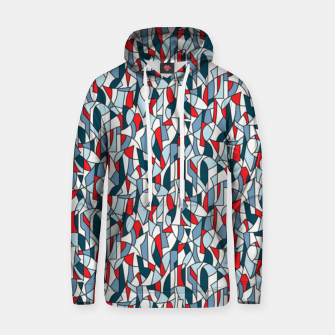 Modern Crowd in Red  Hoodie thumbnail image