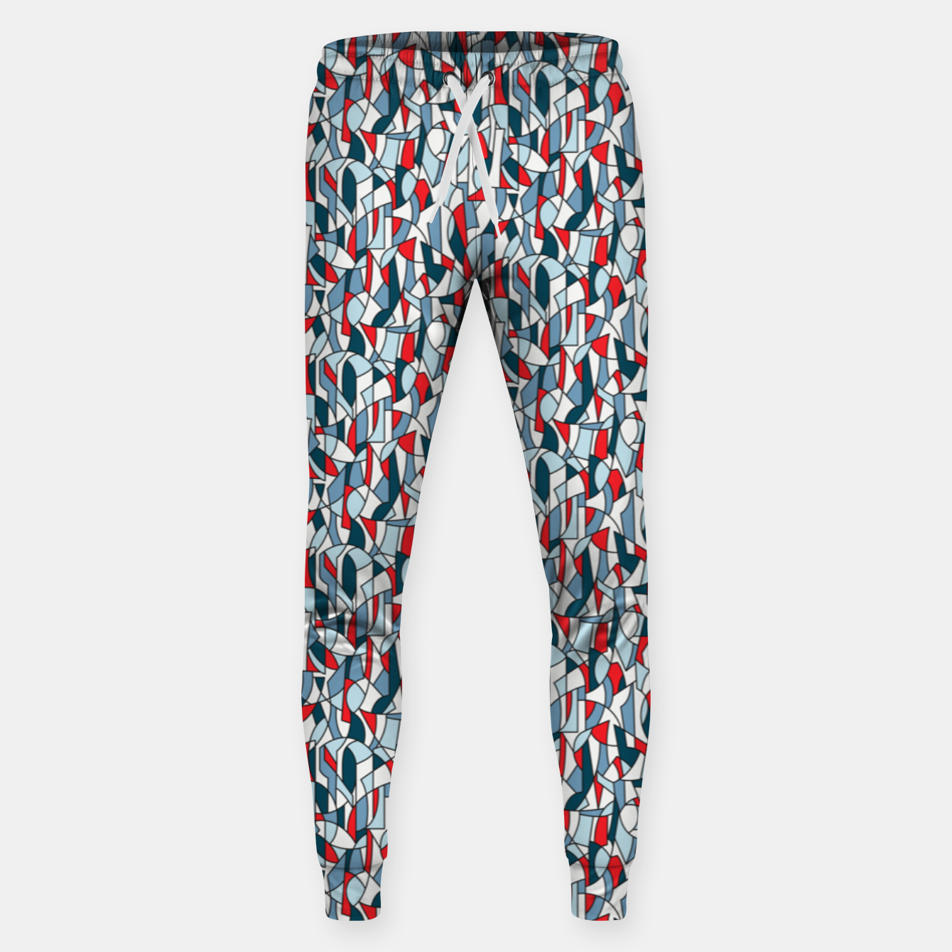 Image of Modern Crowd in Red  Sweatpants - Live Heroes