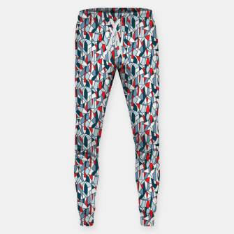 Modern Crowd in Red  Sweatpants thumbnail image