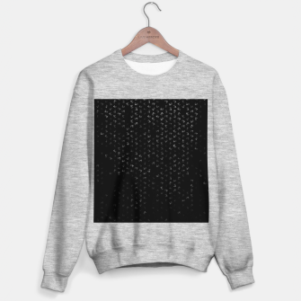 virgo zodiac sign pattern bw Sweater regular thumbnail image