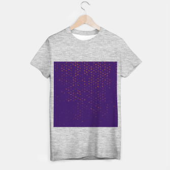 virgo zodiac sign pattern po T-shirt regular thumbnail image