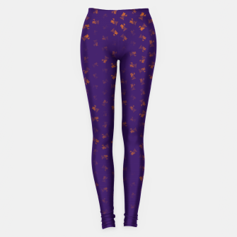 virgo zodiac sign pattern po Leggings thumbnail image