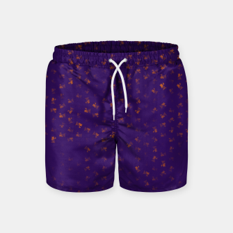 virgo zodiac sign pattern po Swim Shorts thumbnail image