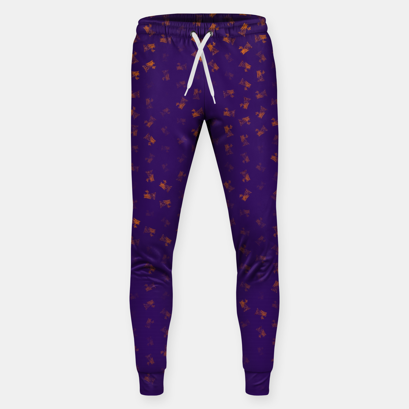 Image of virgo zodiac sign pattern po Sweatpants - Live Heroes