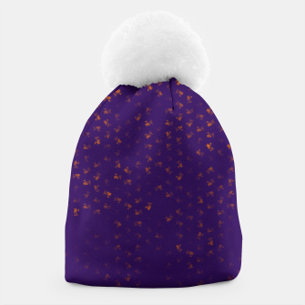 virgo zodiac sign pattern po Beanie thumbnail image