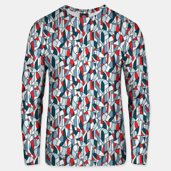 Thumbnail image of Modern Crowd in Red  Unisex sweater, Live Heroes