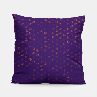 virgo zodiac sign pattern po Pillow thumbnail image