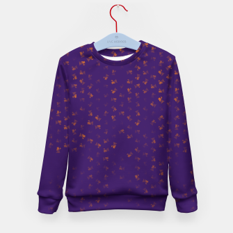 virgo zodiac sign pattern po Kid's sweater thumbnail image
