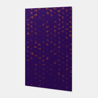 virgo zodiac sign pattern po Canvas thumbnail image