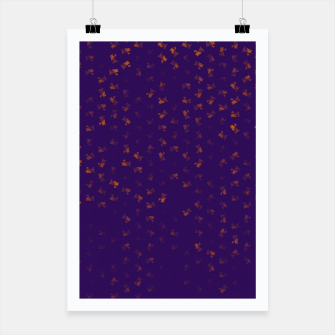 virgo zodiac sign pattern po Poster thumbnail image
