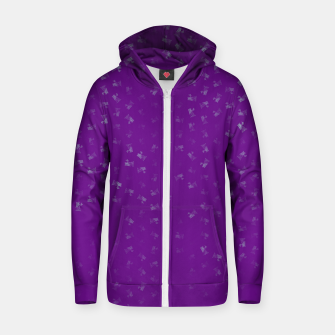 virgo zodiac sign pattern pt Zip up hoodie thumbnail image