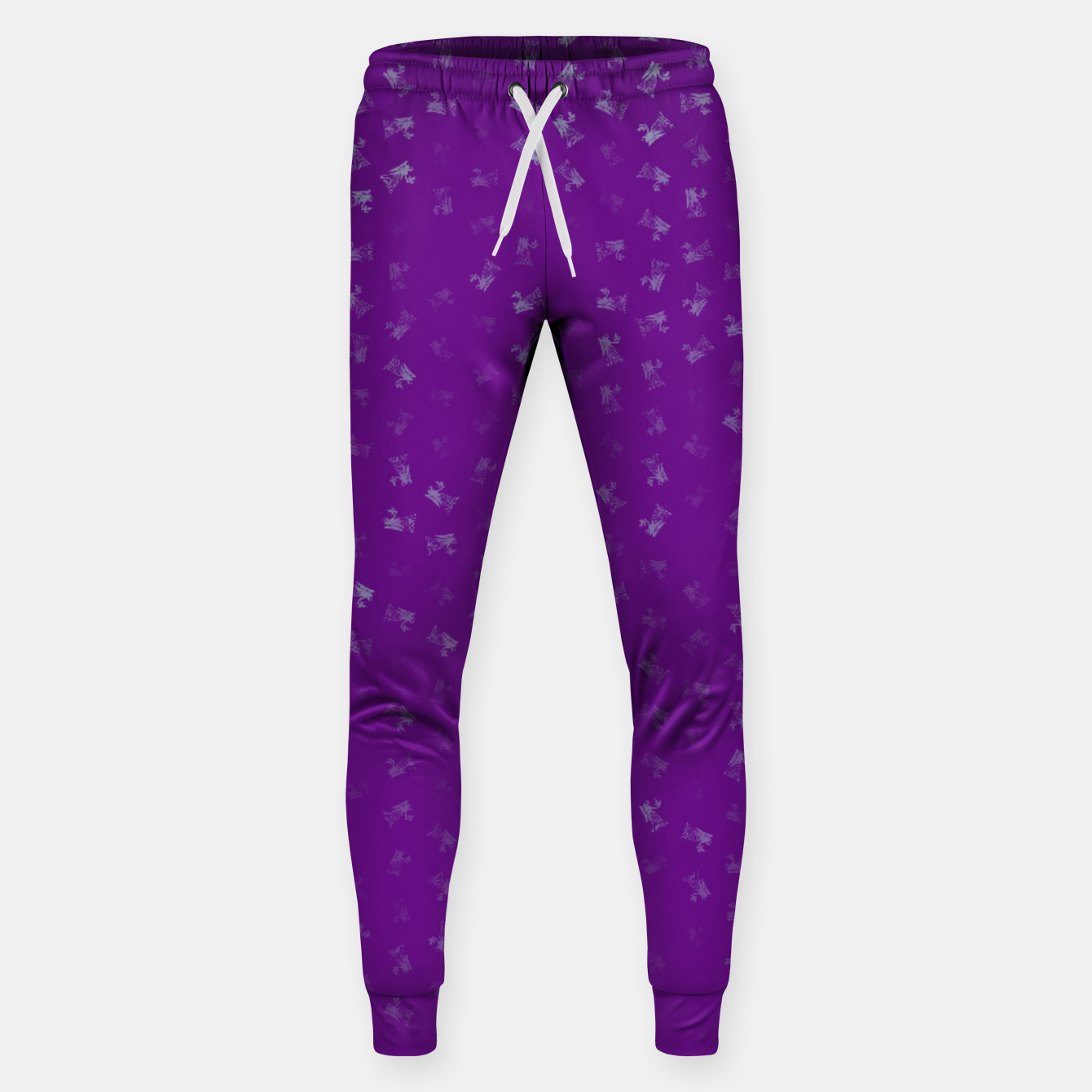 Image of virgo zodiac sign pattern pt Sweatpants - Live Heroes
