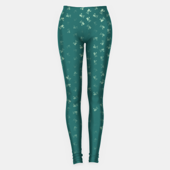 virgo zodiac sign pattern tw Leggings thumbnail image