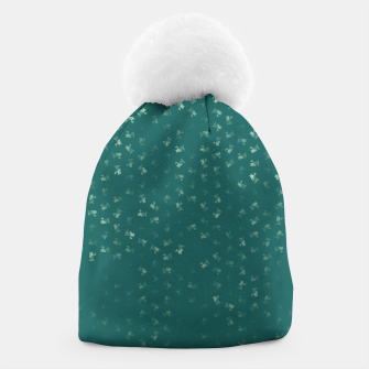 virgo zodiac sign pattern tw Beanie thumbnail image