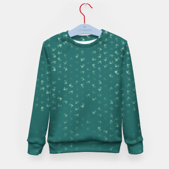 virgo zodiac sign pattern tw Kid's sweater thumbnail image