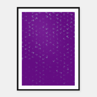 virgo zodiac sign pattern pt Framed poster thumbnail image