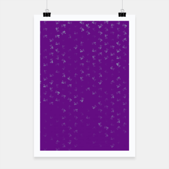 virgo zodiac sign pattern pt Poster thumbnail image