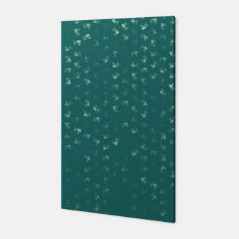 virgo zodiac sign pattern tw Canvas thumbnail image