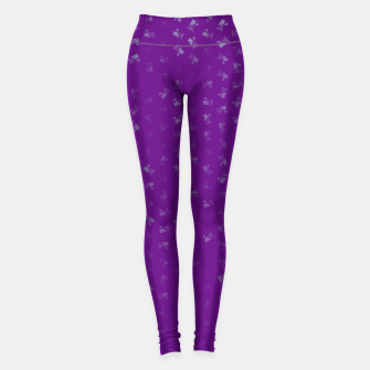 virgo zodiac sign pattern pt Leggings thumbnail image