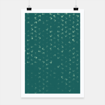 virgo zodiac sign pattern tw Poster thumbnail image