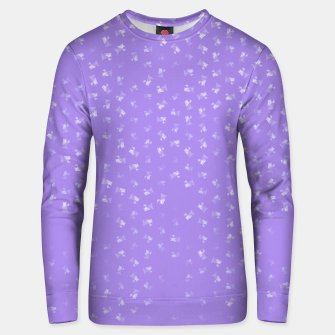 virgo zodiac sign pattern pu Unisex sweater thumbnail image