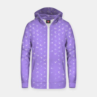 virgo zodiac sign pattern pu Zip up hoodie thumbnail image