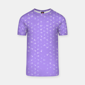 virgo zodiac sign pattern pu T-shirt thumbnail image