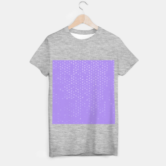 virgo zodiac sign pattern pu T-shirt regular thumbnail image