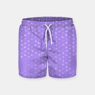 virgo zodiac sign pattern pu Swim Shorts thumbnail image