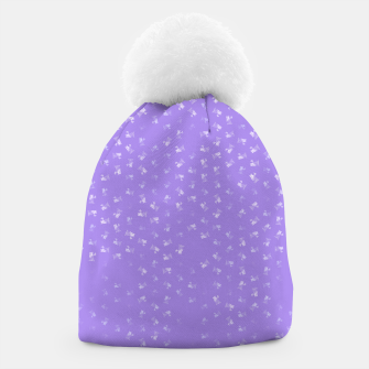 virgo zodiac sign pattern pu Beanie thumbnail image