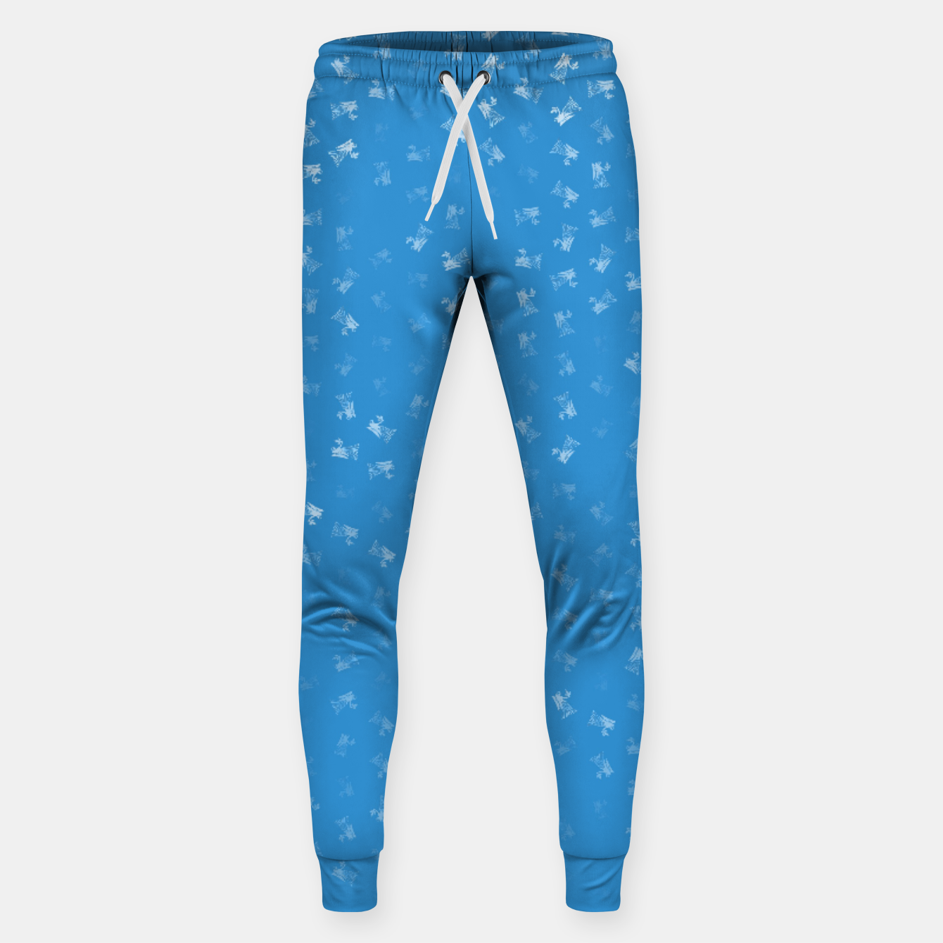 Image of virgo zodiac sign pattern wb Sweatpants - Live Heroes