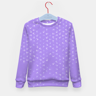 virgo zodiac sign pattern pu Kid's sweater thumbnail image