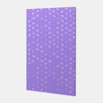 virgo zodiac sign pattern pu Canvas thumbnail image