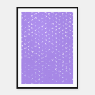 virgo zodiac sign pattern pu Framed poster thumbnail image