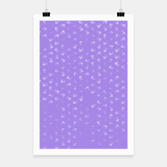 virgo zodiac sign pattern pu Poster thumbnail image