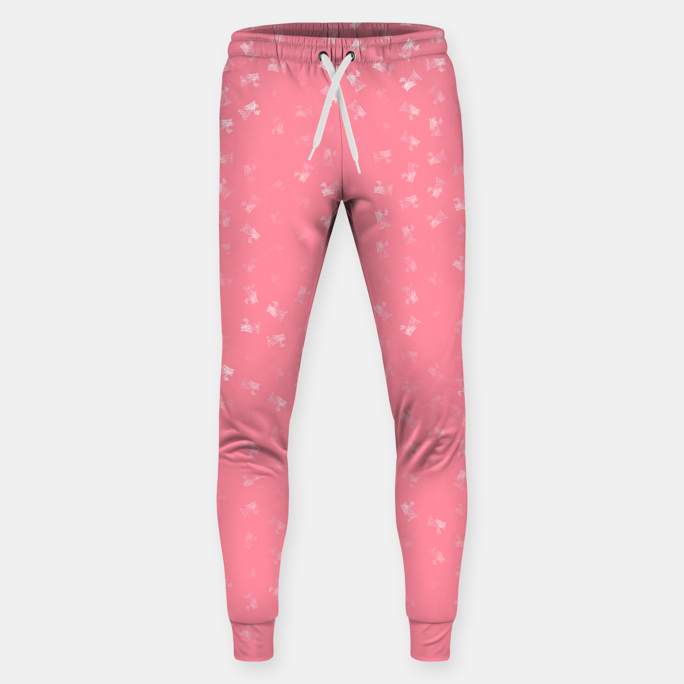 Image of virgo zodiac sign pattern pw Sweatpants - Live Heroes