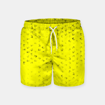 virgo zodiac sign pattern yb Swim Shorts thumbnail image