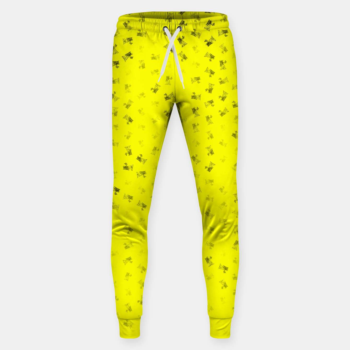 Image of virgo zodiac sign pattern yb Sweatpants - Live Heroes