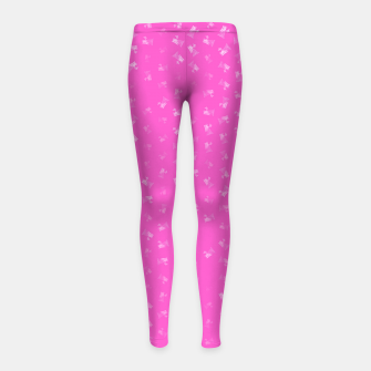 virgo zodiac sign pattern mag Girl's leggings thumbnail image