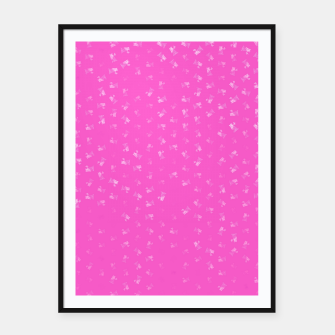virgo zodiac sign pattern mag Framed poster thumbnail image