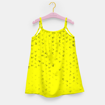 virgo zodiac sign pattern yb Girl's dress thumbnail image