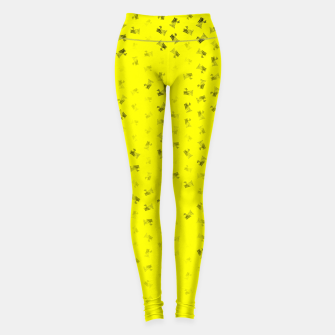 virgo zodiac sign pattern yb Leggings thumbnail image