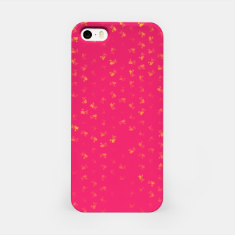 virgo zodiac sign pattern py iPhone Case thumbnail image