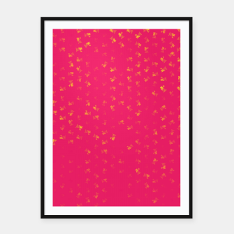virgo zodiac sign pattern py Framed poster thumbnail image