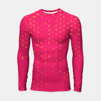 virgo zodiac sign pattern py Longsleeve rashguard  thumbnail image