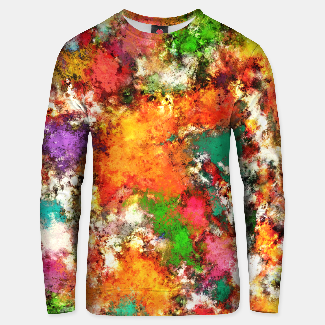 Image of Snap Unisex sweater - Live Heroes