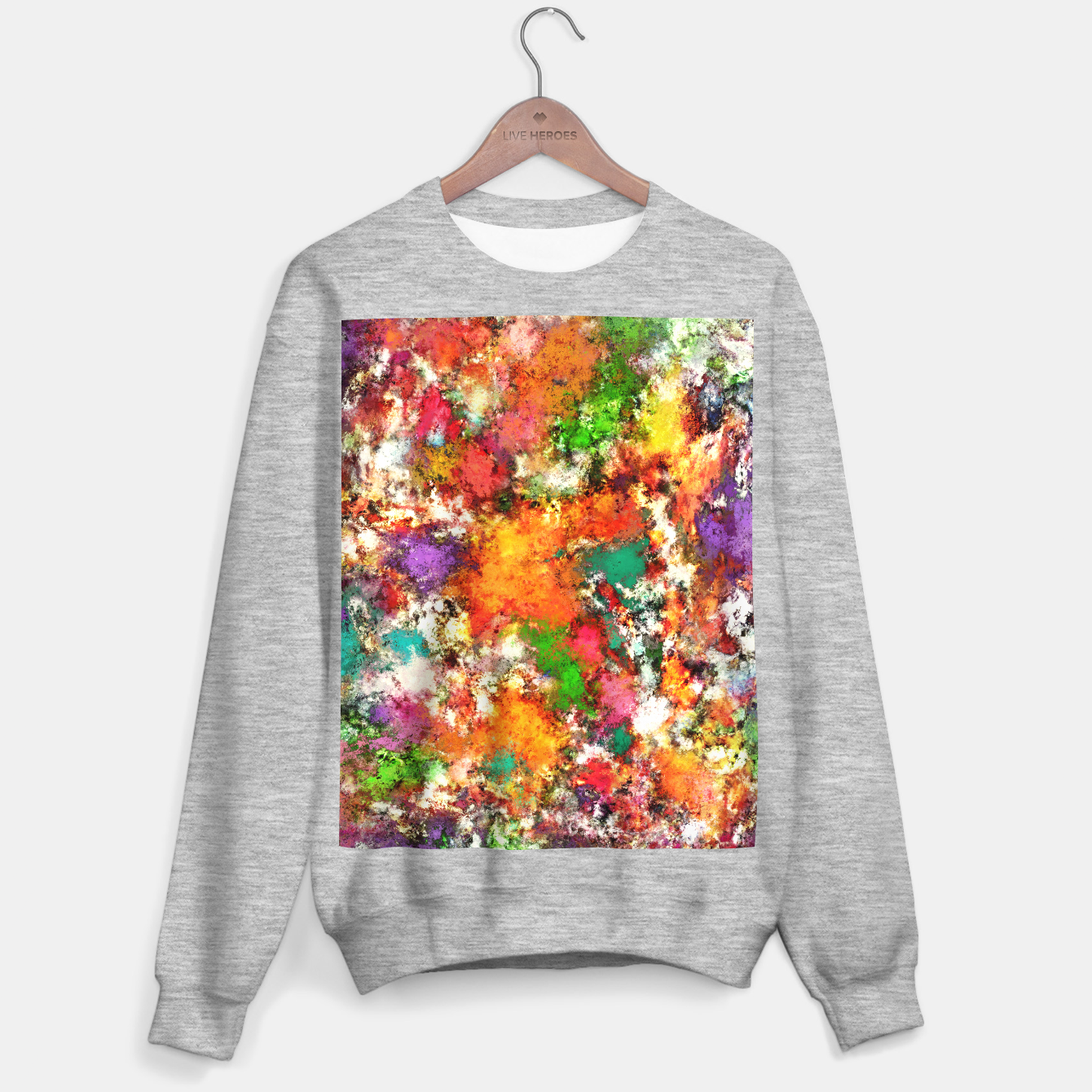 Image of Snap Sweater regular - Live Heroes