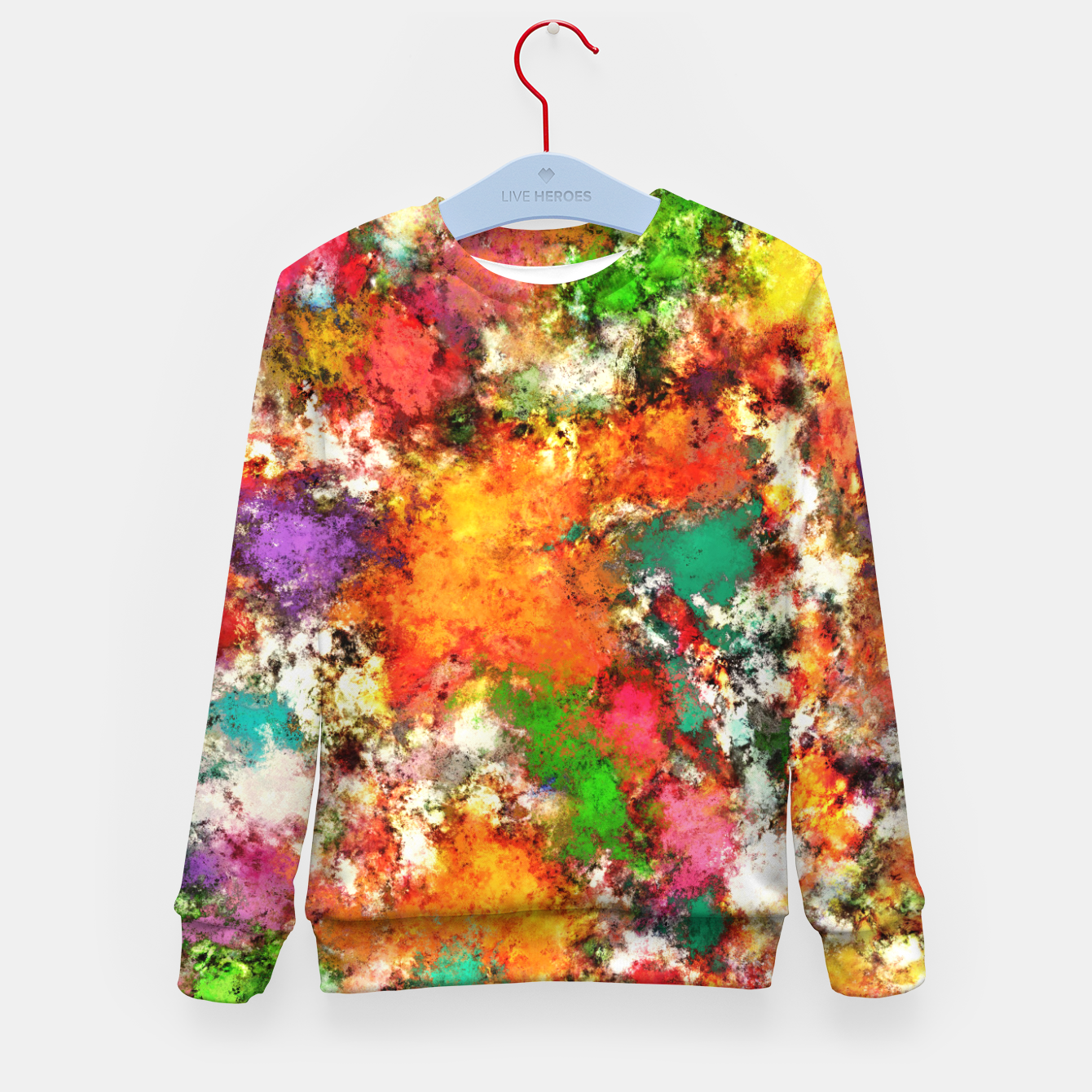Image of Snap Kid's sweater - Live Heroes