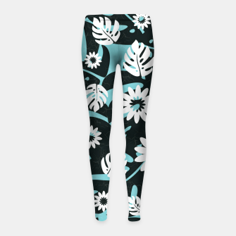 Thumbnail image of Summer vibes Girl's leggings, Live Heroes