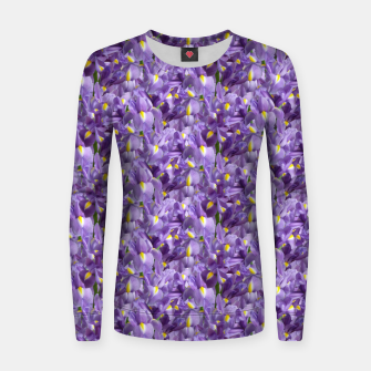 Thumbnail image of Iris Mesh Women sweater, Live Heroes